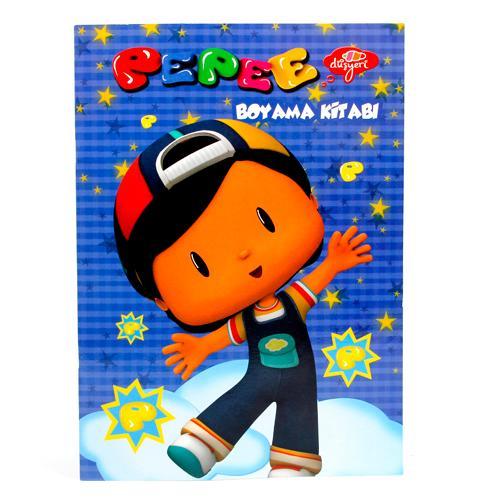 Ofixcom Keskin Color Pepee 20x28 Tek Renk Boyama Kitabı 4 Yp
